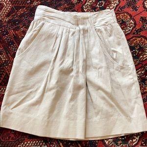 Lela Rose light grey summer mini skirt